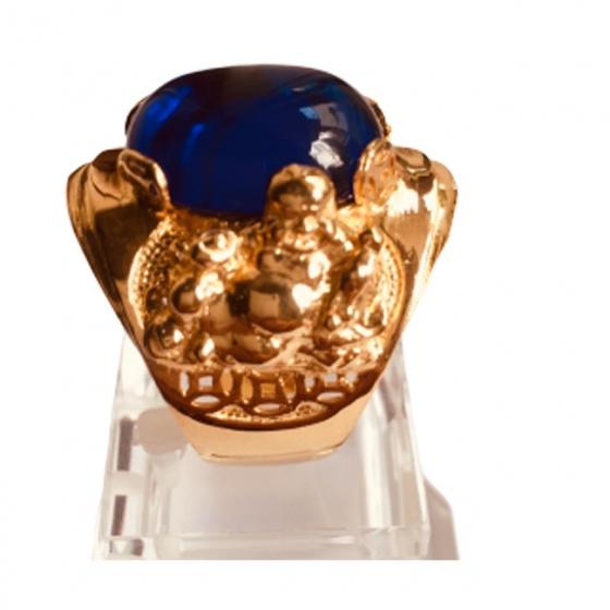 Nhẫn nam đá thạch anh mạ vàng 18k - RM01059