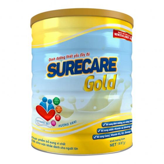 Sữa Surecare Gold 900g (dành cho người lớn)
