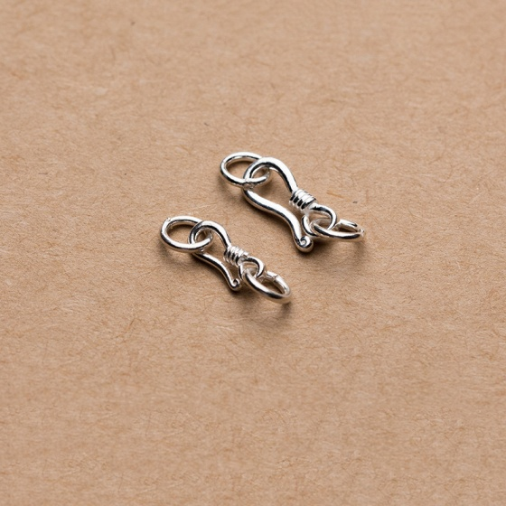 Charm bạc móc khóa kết vòng tay, dây chuỗi - Ngọc Quý Gemstones