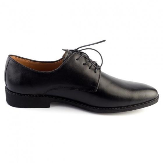 Giày da Pierre Cardin Blank Derby - PCMFWLC080BLK màu đen