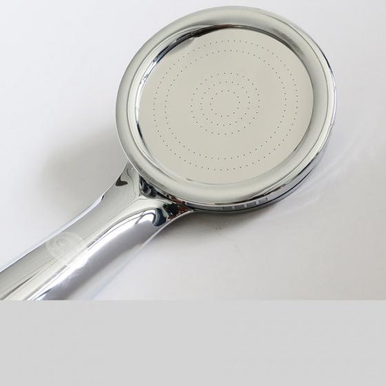 Bộ tay dây sen siêu tăng áp Eurolife EL-114SH (trắng bạc)