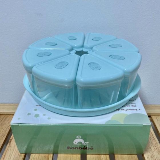 Khay, hộp chia thức ăn, thực phẩm Bonbebe BB-11