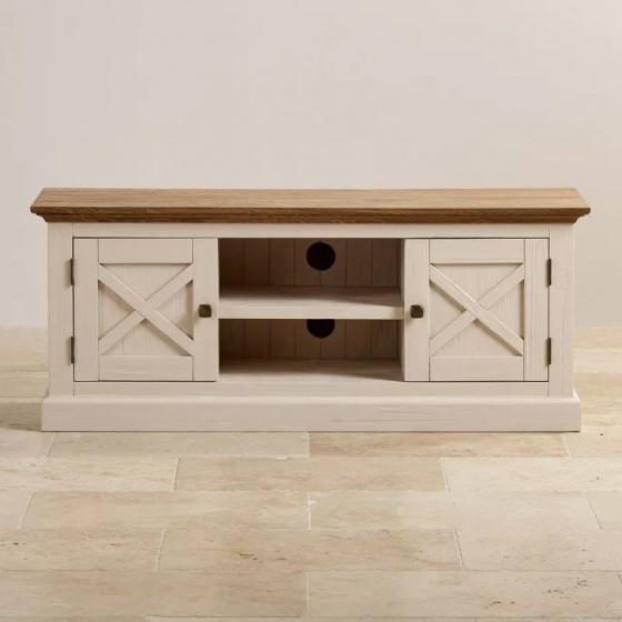 Tủ tivi lớn Sark gỗ sồi - Cozino