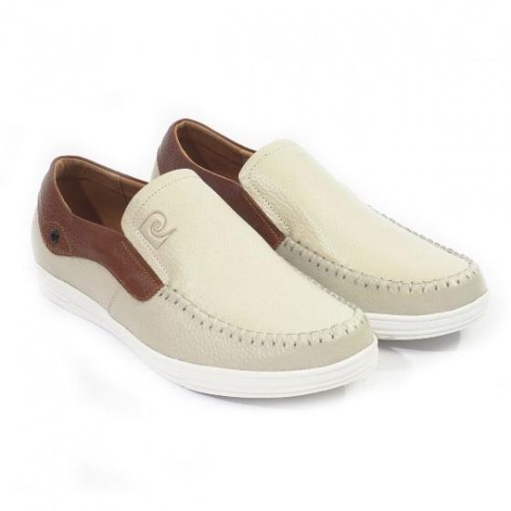 Giày lười nam Pierre Cardin PCMFWLD098CRM màu kem