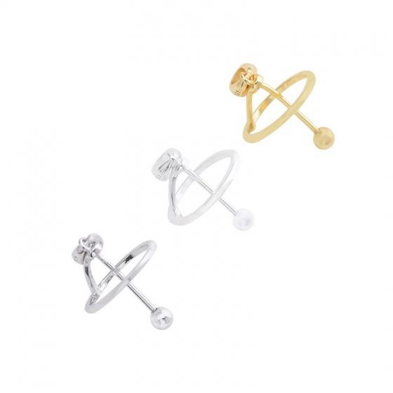 Charm bạc làm mặt dây chuyền gắn hạt đá tròn hình chuông doremon - mạ vàng