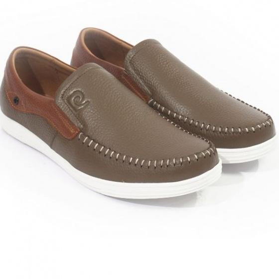 Giày lười nam Pierre Cardin PCMFWLD098GRE màu xanh