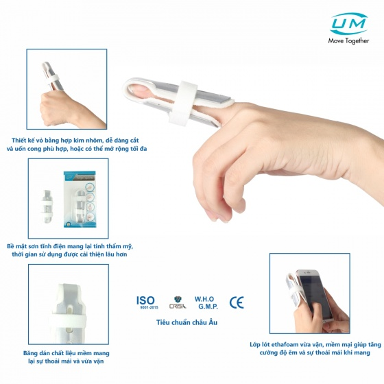 Nẹp ngón tay kín United Medicare (E01), size M