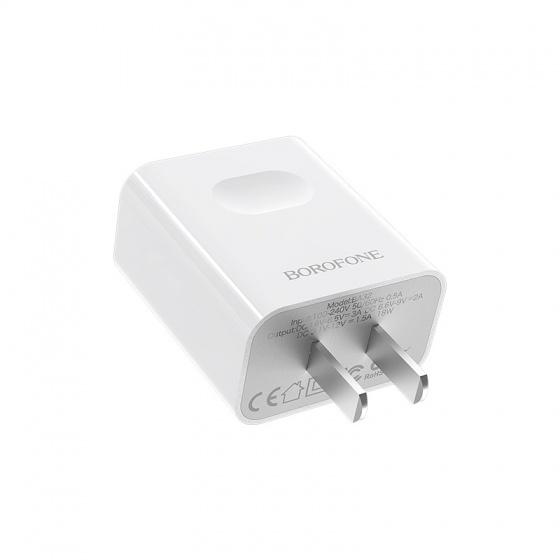 Cốc sạc nhanh Borofone BA32, BA-32 - 1 cổng USB (CN)