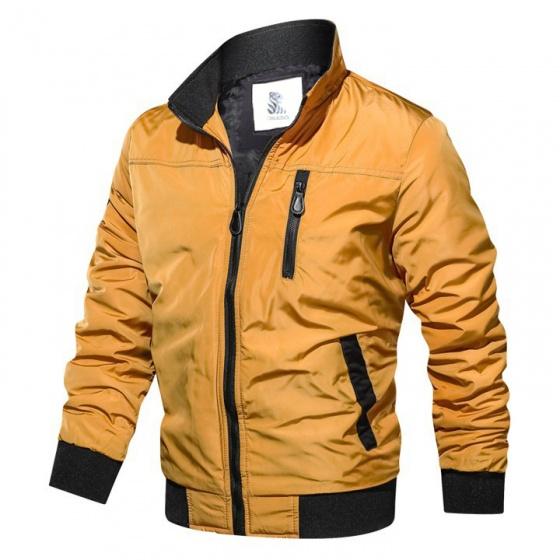 Áo khoác dù chống thấm nước 2 lớp cao cấp Bonado AK33 - đen, vàng, rêu
