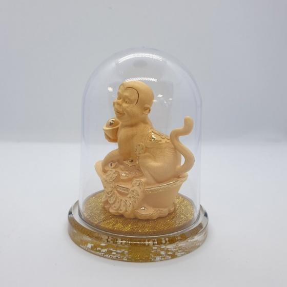 Kim Giáp Thân - quà tặng mỹ nghệ Kim Bảo Phúc phủ vàng 24k DOJI