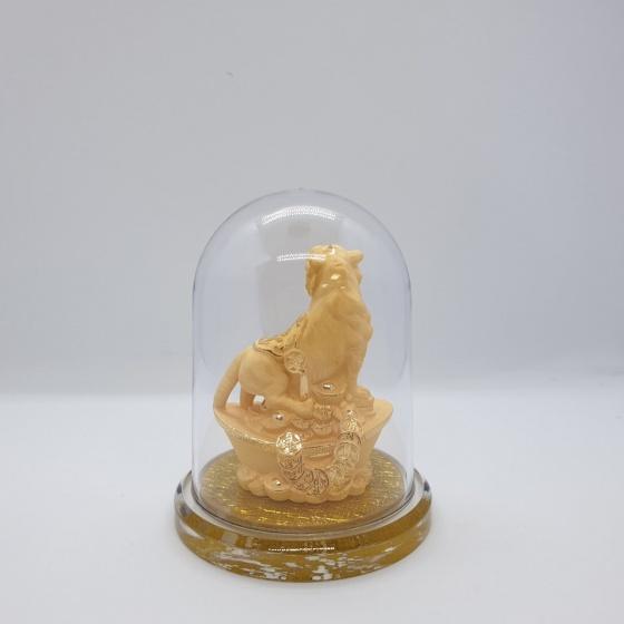 Kim Giáp Dần - quà tặng mỹ nghệ Kim Bảo Phúc phủ vàng 24k DOJI