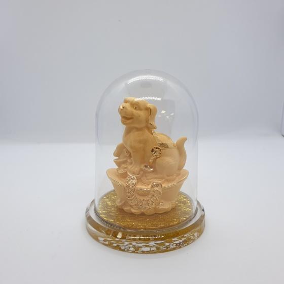 Kim Tuất - quà tặng mỹ nghệ Kim Bảo Phúc phủ vàng 24k DOJI