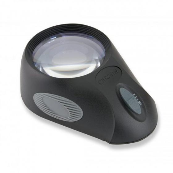 Kính lúp cao cấp Carson LumiLoupe Ultra LL-88 (5x) có đèn - hàng chính hãng