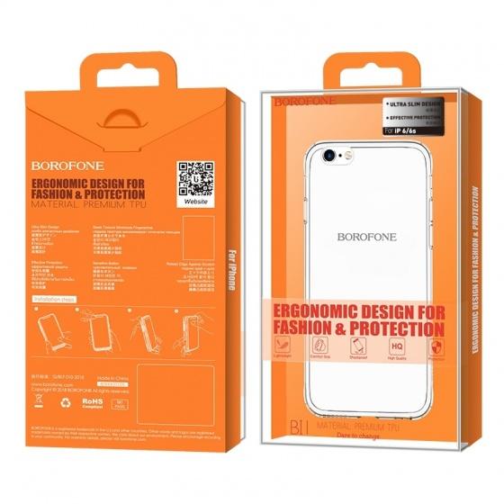 Ốp lưng trong Iphone Borofone 6-6S BI1