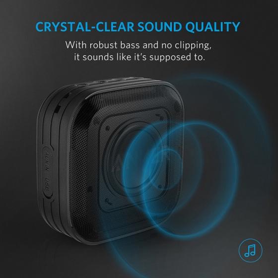 Loa Bluetooth Anker SoundCore Sport - chống nước - A3182