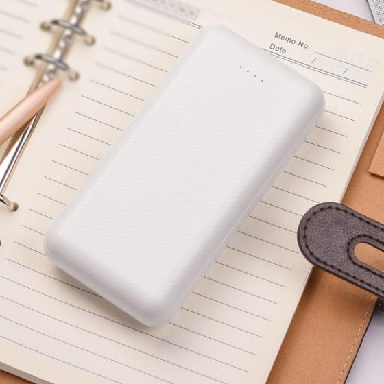 Pin sạc dự phòng Borofone BT27A, 20000mah, cổng vào Micro USB- USB C, 2 Cổng ra 2A