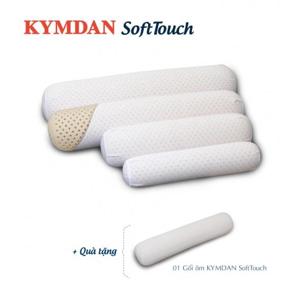 Combo 4 gối ôm Kymdan SoftTouch cỡ lớn (chiều dài 110cm) - Tặng 1 gối cùng loại