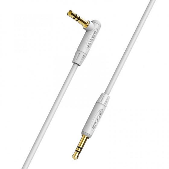 Cáp audio AUX Borofone BL4 chuyển jack 3.5mm sang jack 3.5 mm, TPE, 1m