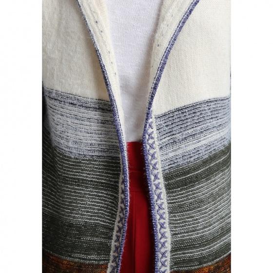 Áo khoác len hoạ tiết Luna Llena LN870ET82-BL