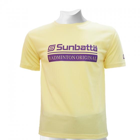 Áo thể thao cầu lông Sunbatta SMT 635 Vàng nhạt Form training