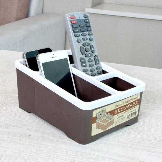 Hộp đựng bút, điều khiển, điện thoại 4 ngăn hình chữ nhật