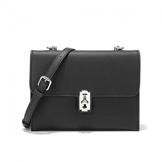 Túi da thật VM A58 - đen - D05A58
