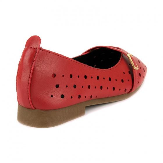 Giày búp bê êm chân Sunday BB39 đỏ
