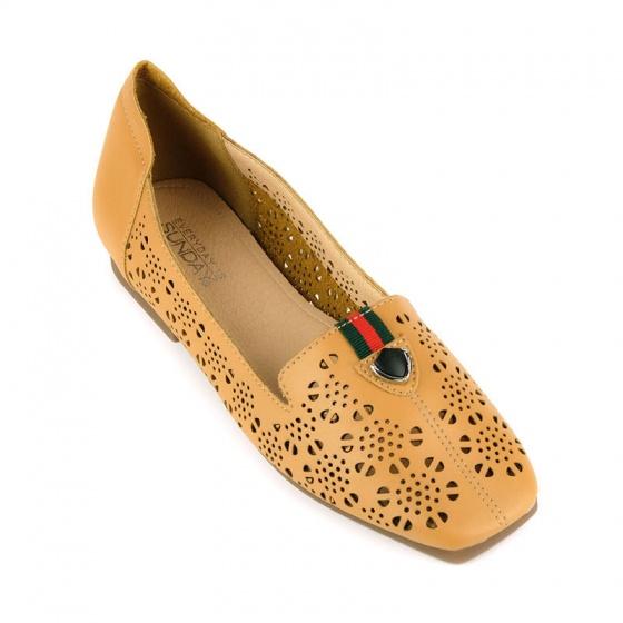 Giày búp bê êm chân Sunday BB40 kem