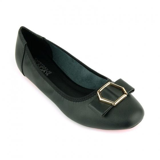 Giày búp bê êm chân Sunday BB41 đen