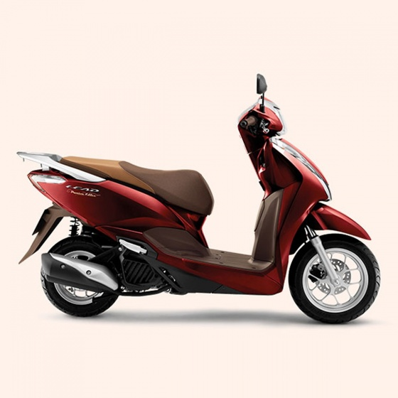 Xe máy Honda Lead cao cấp 2019 (smart key) - đỏ nâu
