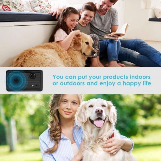 Máy chống chó sủa phát siêu âm, ngăn chó sủa trong nhà và ngoài trời Aturos Anti Barking