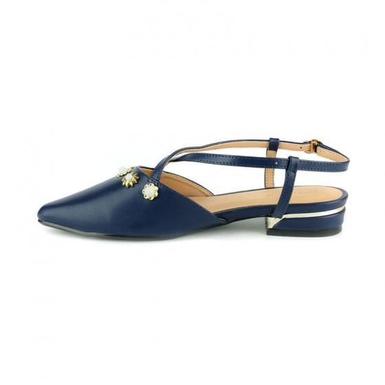 Giày búp bê êm chân Sunday BB42 xanh dương