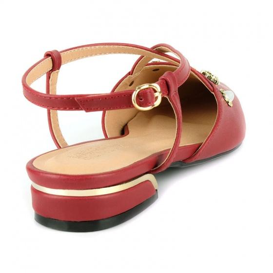Giày búp bê êm chân Sunday BB42 đỏ