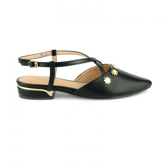 Giày búp bê êm chân Sunday BB42 đen