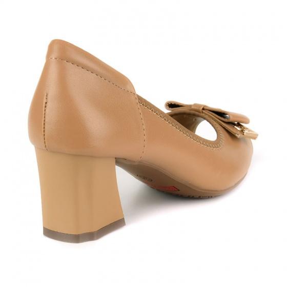 Giày cao gót êm chân Sunday CG46 nâu