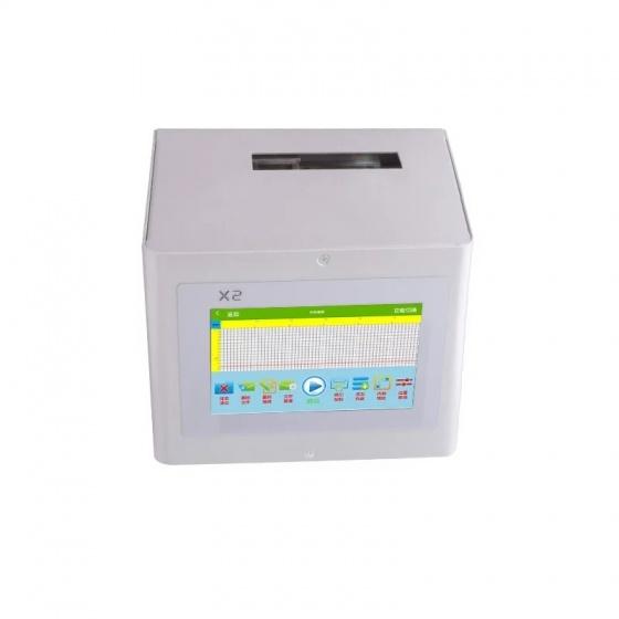 Máy in date mini in hạn sử dụng, in logo, in mã vạch, QR trên mọi chất liệu Aturos Somrt X2