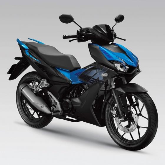 Xe máy Honda Winner X - phiên bản thể thao (đen xanh)