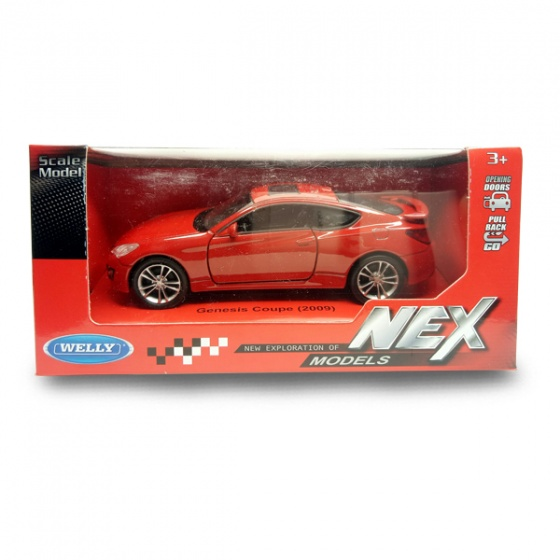 Xe mô hình Huyndai Genesis Coupe WELLY 43628CW