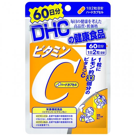 Viên uống DHC bổ sung vitamin C Nhật Bản gói 60 ngày (120 viên)