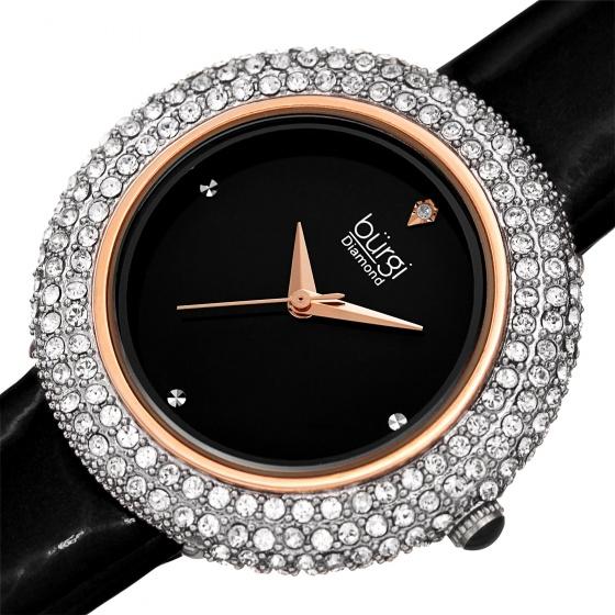 Đồng hồ nữ Burgi BUR199BKR