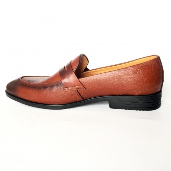 Giày tây nam da bò thật chính hãng GCS60 Geleli