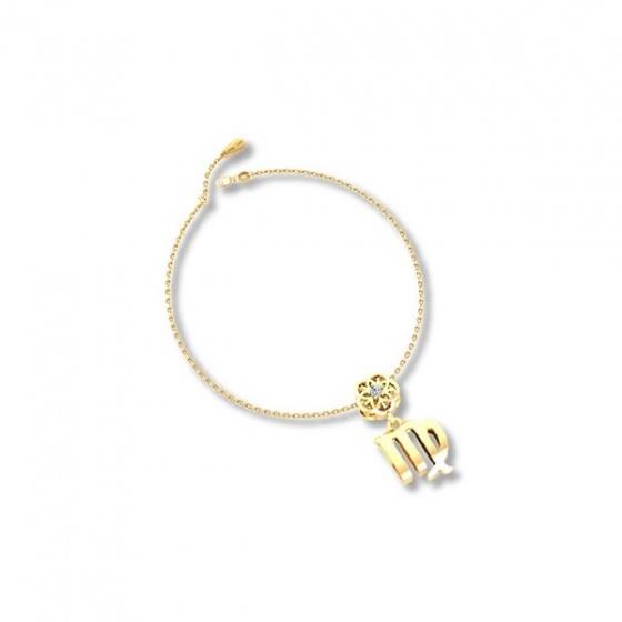 Mặt charm cung hoàng đạo Xử Nữ vàng 14K DOJI 0219P-LAL363 (không bao gồm dây)