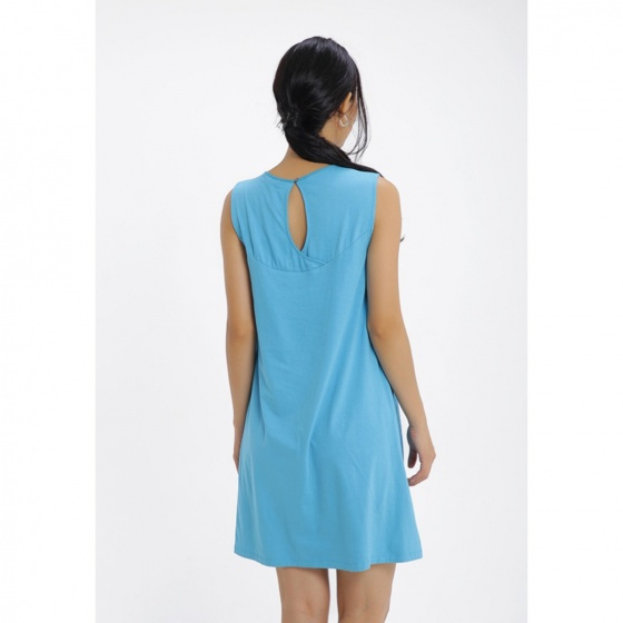 Đầm suông họa tiết thêu Md'M MD67546818-BU