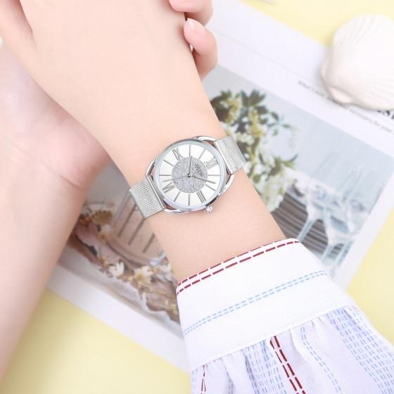 Đồng hồ nữ Julius Hàn Quốc JA-1184 dây thép