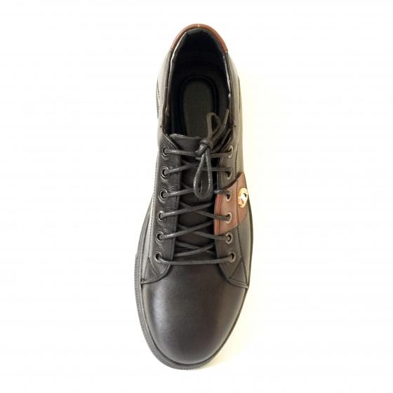 Giày thể thao nam da bò thật dáng sneaker GTT5