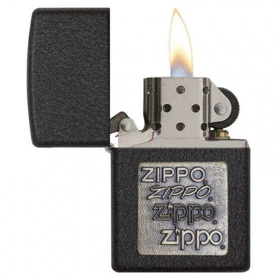 Bật lửa Zippo Black Crackle 362