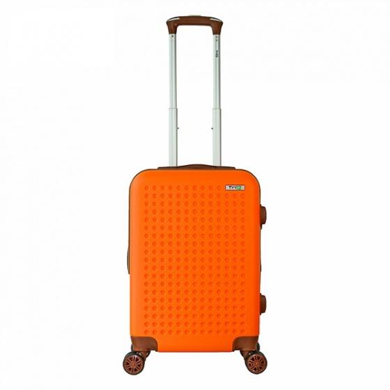 Vali nhựa du lịch, kéo Trip P803A size 50cm cam