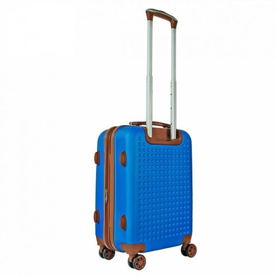 Vali nhựa du lịch, kéo Trip P803A size 50cm xanh dương