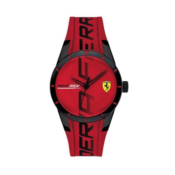 Đồng hồ Ferrari 0830617 nam dây cao su 44mm
