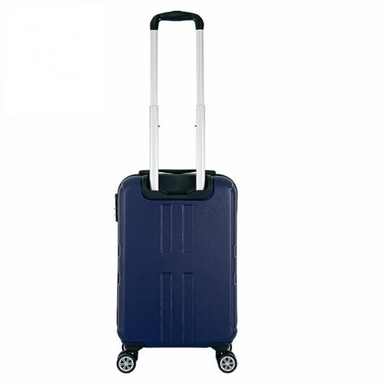Vali nhựa kéo, du lịch Trip P12 size 50cm xanh đen (TẶNG THẺ TREO VALI)